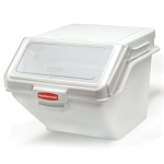 Rubbermaid Commercial 9G58 WHI Prosave™ 10.7 Gallon Shelf Ingredient Bin w/ 2 Cup Portioning Scoop 6 Per Case Price Per Each