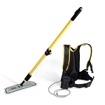 Rubbermaid Commercial Q979 Flow™ Flat Mop Finishing System Kit