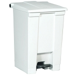Rubbermaid Commercial 6144WHI 12 Gallon Step-On Container White