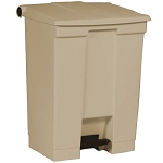 Rubbermaid Commercial 614500BG 18 Gallon Step-On Container Beige