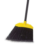 Rubbermaid Commercial 637400BLA Lobby Dust Pan Broom w/ Polypropylene Fill