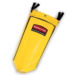 Rubbermaid Commercial 1966881 High Capacity Vinyl Replacement Bag For 9T75  9T73  9T92  9T72 & 6173-88 Yellow
