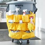 Rubbermaid Commercial 264200YW 44 Gallon Brute® Caddy Bag For 2632 2643 Containers Yellow
