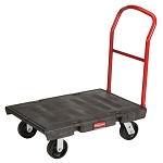 Rubbermaid Commercial 4406BLA Heavy-Duty Platform Truck Small Black