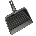 Rubbermaid Commercial 2005CHA Heavy-Duty Dust Pan Charcoal