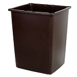 Rubbermaid Commercial 256BBRO 56 Gallon Glutton® Container Brown