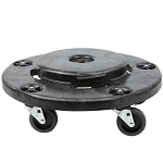 Rubbermaid Commercial 264000BK Brute® Dolly For 2620 2632 2643 2655 Containers Black