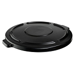 Rubbermaid Commercial 264560BLA Brute® Vented/Self-Draining Lid Fits all 44-Gallon Brute® Containers Black