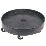 Rubbermaid Commercial 2650BLA Brute® Universal Drum Dolly For 2655 Container Black