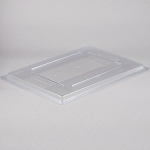 Rubbermaid Commercial 3310CLE Food Boxes Lids For 3304 3307 & 3309 Clear 6 Per Case Price Per Each