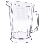 Rubbermaid Commercial 3334CLE 60 Oz. Bouncer® II Plastic Pitcher Clear 6 Per Case Price Per Each
