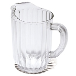 Rubbermaid Commercial 333800CR 60 Oz. Bouncer® Plastic Pitcher Clear 6 Per Case Price Per Each