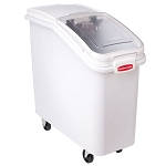Rubbermaid Commercial 360088WHI Prosave™ Ingredient Bins w/ 32 Oz. Scooper 2-3/4 Cubic Ft Capacity 6 Per Case Price Per Each
