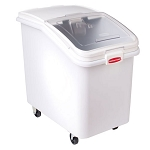 Rubbermaid Commercial 360388WHI Prosave™ Ingredient Bins w/ 32 Oz. Scooper 4-1/8 Cubic Feet Capacity 6 Per Case Price Per Each