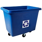 Rubbermaid Commercial 461673BE Recycling Cube Truck