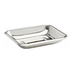 Steeltek® Basic 1 Piece Design Soap Dish 6 Per Case Price Per Each