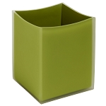 Steeltek Moss 8 Qt. Wastebasket 4 Per Case Price Per Each
