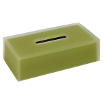 Steeltek Moss Rectangular Tissue Box Cover 6 Per Case Price Per Each