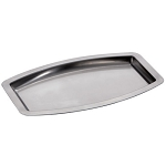 Steeltek® Premier/ Pewter Veil Amenity Tray 24 Per Case Price Per Each