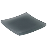 Steeltek® The Smoke Collection Double Wall Resin Curve Soap Dish 24 Per Case Price Per Each