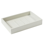 Steeltek® Spa White Soap Dish 24 Per Case Price Per Each