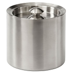 Steeltek® Barware 3 Qt. Ice Bucket w/ No Handle Brushed Finish 6 Per Case Price Per Each