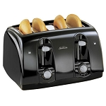 Sunbeam® 3911 4 Slice Extra-Wide Slot Toaster w/ Cool Touch Black 2 Per Case Price Per Each