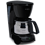 Sunbeam® TF5080 Mr. Coffee® 4 Cup Coffee Maker Auto Off Pause n Serve Stainless Carafe Black 4 Per Case