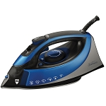 Sunbeam® SNB GCSBCS200000 Turbo Steam Master® Full Size Professional Iron Silver/Blue 4 Per Case Price Per Each