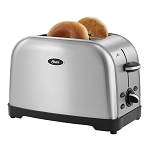 Sunbeam® TSSTTRWF2S001 Oster® 2 Slice Extra-Wide Slot Toaster Brushed Stainless Steel 2 Per Case Price Per Each