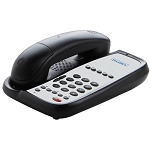 Teledex I Series AC9105S Analog Single Line 1.9 GHz Cordless Speakerphone w/ 5 Guest Service Keys Black or Ash 10 Per Case Price Per Each