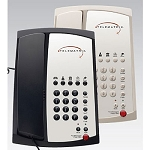 Telematrix 3100 Series 3100MWD5 Analog Single Line Speakerphone w/ 5 Guest Service Keys & One Touch Message Retrieval Black or Ash 10 Per Case Price Per Each