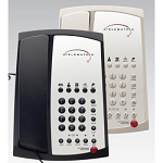 Telematrix 3100 Series 3102MWD5 Analog Two Line Speakerphone w/ 5 Guest Service Keys & One Touch Message Retrieval Black or Ash 10 Per Case Price Per Each