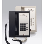 Telematrix 3300 Series 3300MWB Analog Single Line Basic Phone w/ Message Waiting Light Black or Ash 10 Per Case Price Per Each
