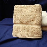 Thomaston Mills Royal Suite Dobby Washcloths 13x13 Beige 25 Dz Per Case Price Per Dz