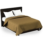 Martex Rx Solid Color Gold Coverlets