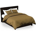 Martex Rx Solid Color Gold Pillow Shams