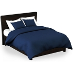 Martex Rx Solid Color Navy Pillow Shams