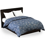 Martex Rx Shells & Stripes Blue Comforters