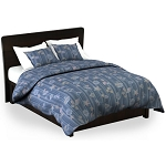 Martex Rx Shells & Stripes Blue Pillow Shams