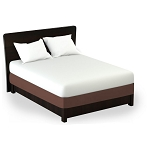 Martex Rx Solid Chocolate Box Spring Wrap Twin XL 39x80 Poly/Cotton 1 Dz Per Case Price Per Each