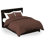 Martex Rx Solid Color Chocolate Pillow Shams