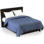 Martex Rx Solid Color Blue Coverlets