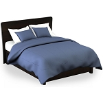 Martex Rx Solid Color Blue Pillow Shams