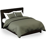Martex Rx Solid Color Green Pillow Shams