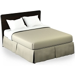 Martex Rx Solid Tan Bed Skirt Twin XL 39x80x15 Poly/Cotton 1 Dz Per Case Price Per Each