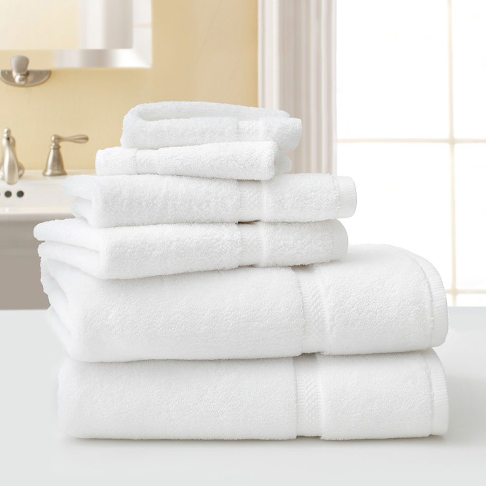 Martex Five Star Hotel Collection Bath Towels 30x56 100 Combed Ring Spun Cotton White 18lb Dz 3 Per Case Price