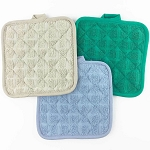 Martex Pot Holder w/ Corner Loop 7x7 100% Ring Spun Cotton Loops 24 Dz Per Case Price Per Dz