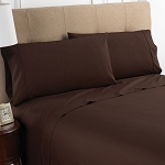 Martex Colors T-200 Pillowcase Standard 44x36 60% Cotton 40% Polyester Chocolate 4 Dz Per Case Price Per Dz