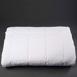 Martex Ultra Touch Microfiber Lightweight Down Alternative Comforters King 106x94 White 2 Per Case Price Per Each